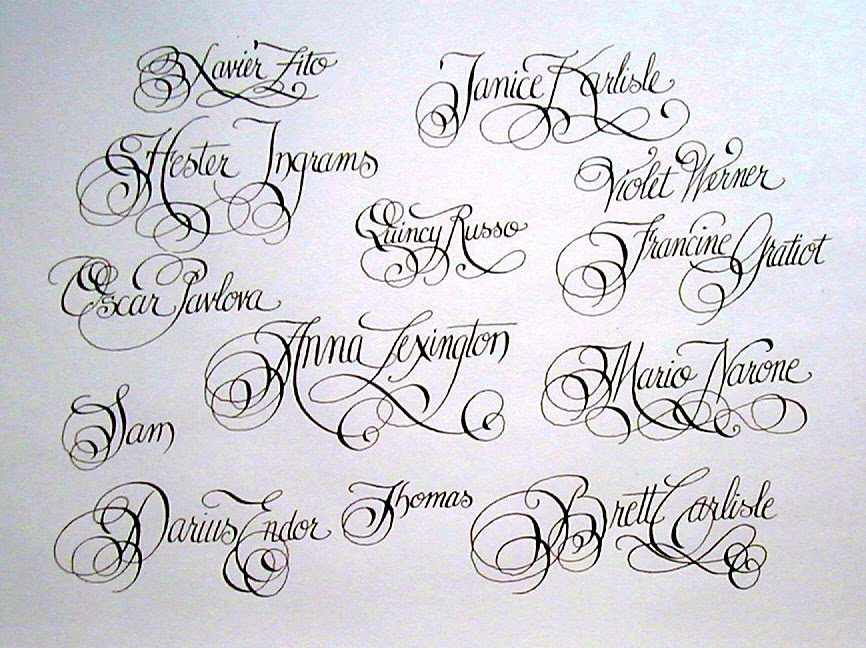 Fancy Writing Tattoos