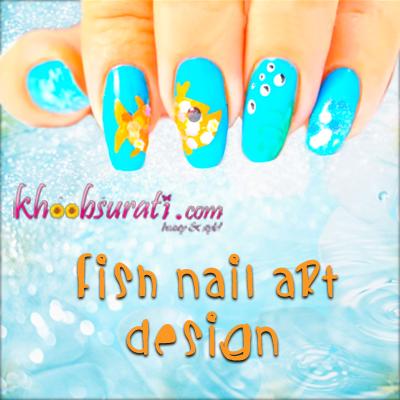 Fish Nail Art Designs