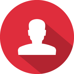 Flat Contact Icon