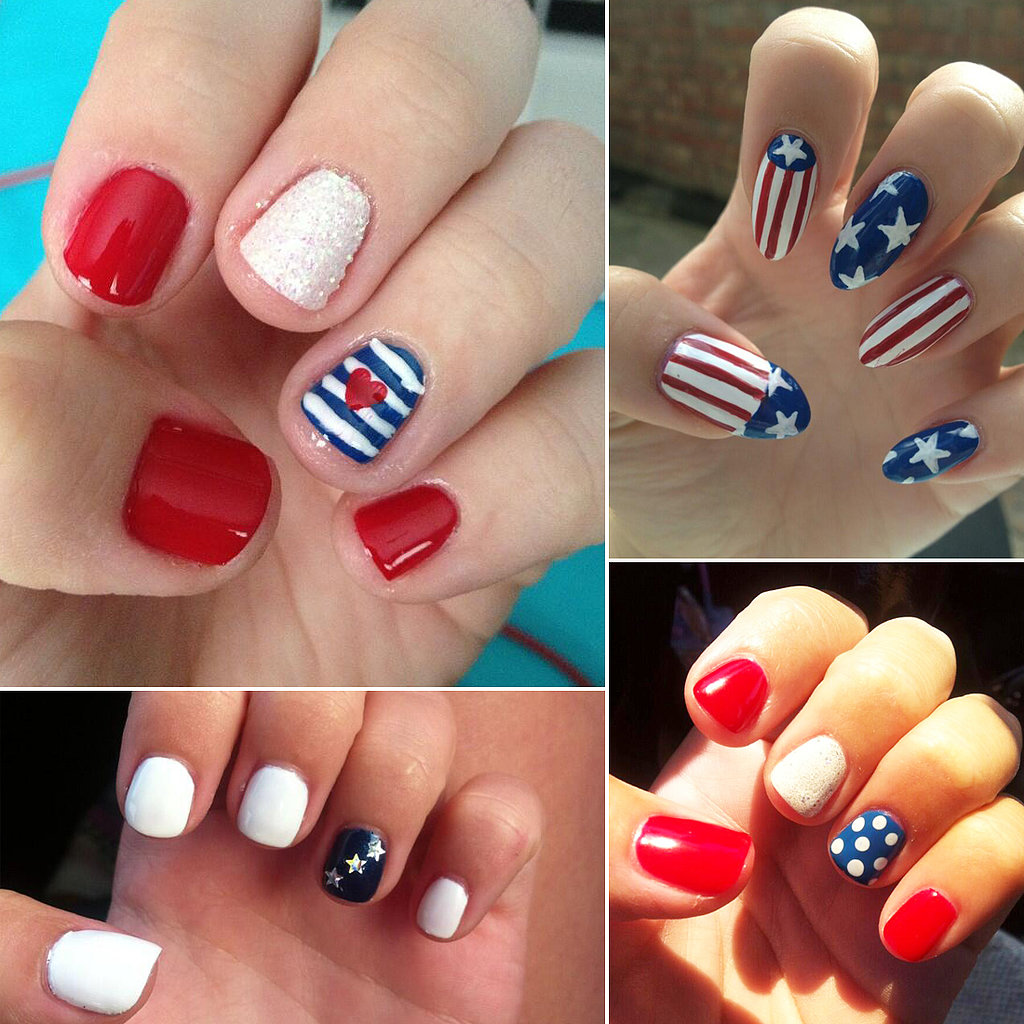 Fourth July Nail Designs