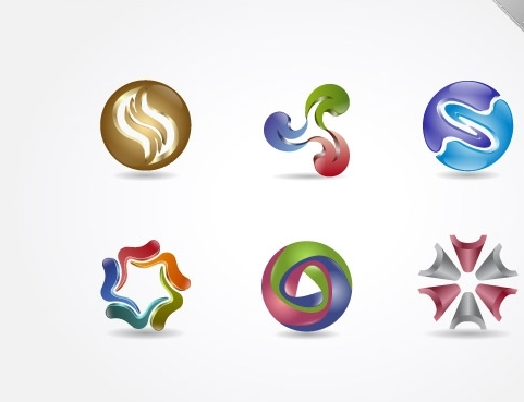 14 3d logo design psd images 3d logo mockup psd template for Logo design online free 3d