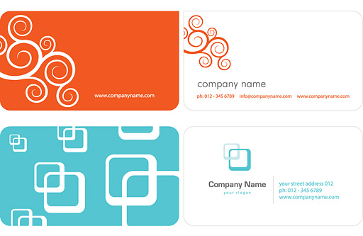 Free Business Card Graphics