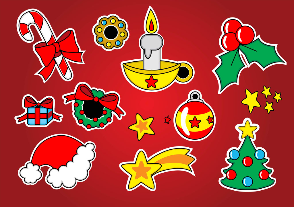 Free Christmas Clip Art Vector