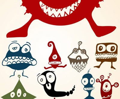 Free Cute Monster Vector