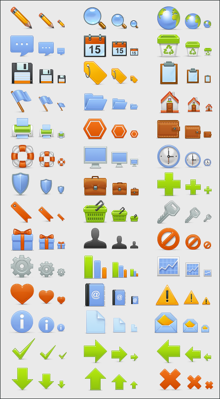 11 Free Web Icons Group Images