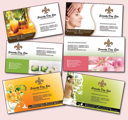 Free Massage Business Card Templates