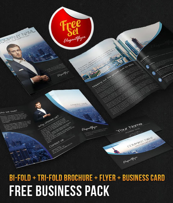 Free Photoshop Brochure Template