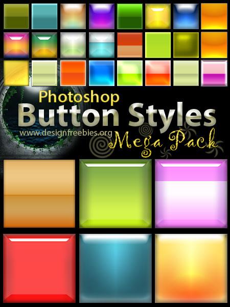 Free Photoshop Button Styles