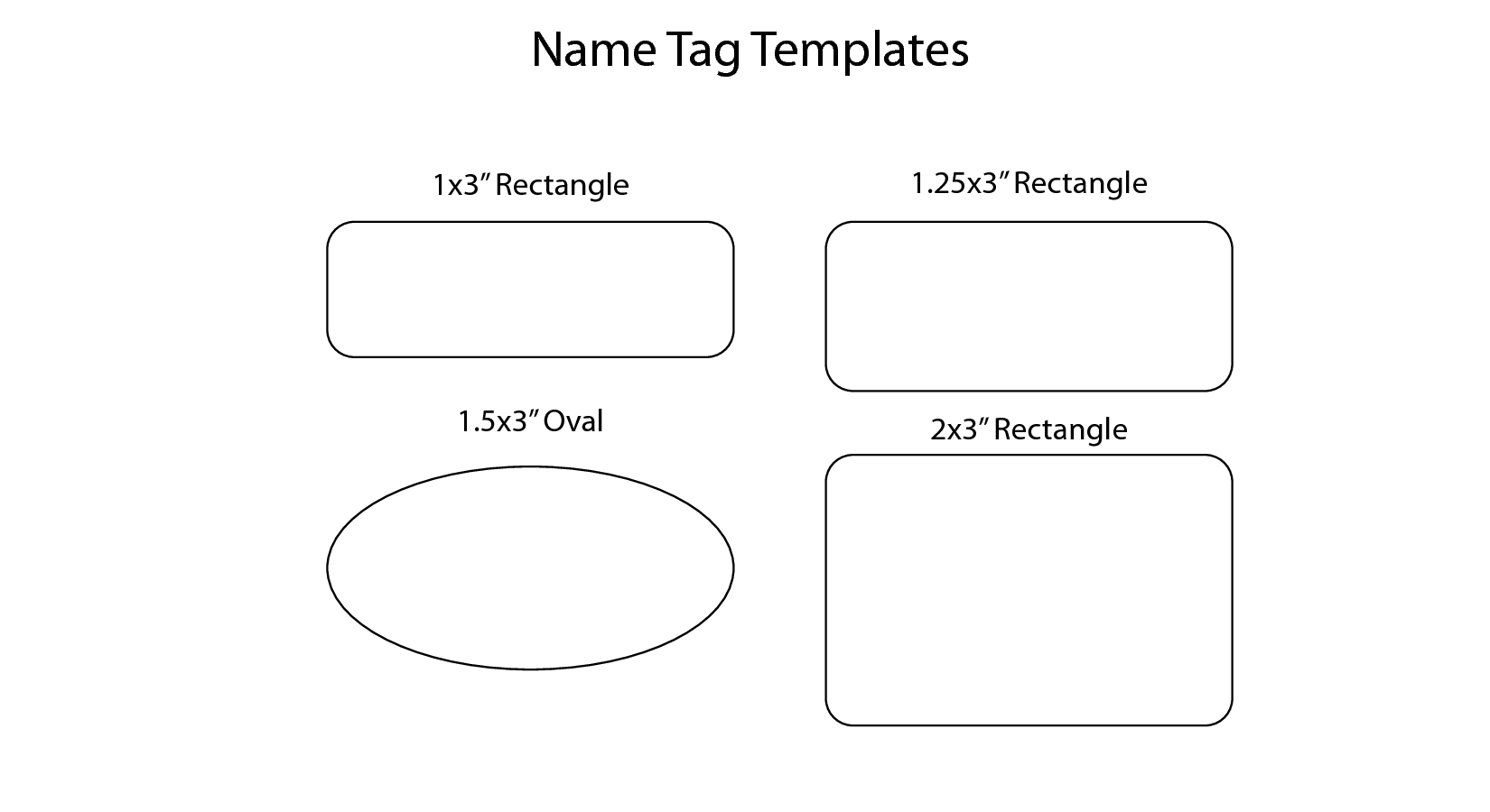 Name Badge Template Free from www.newdesignfile.com