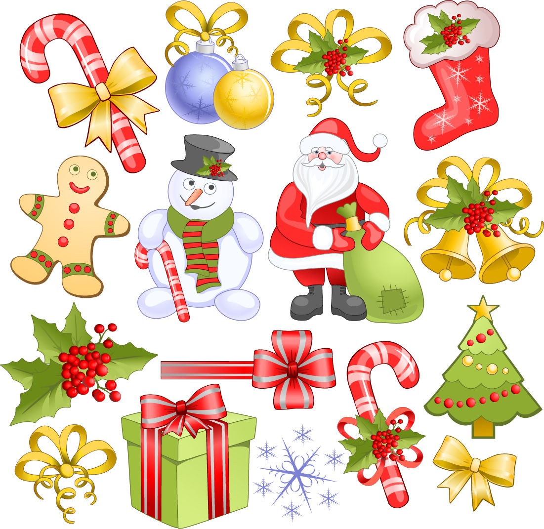 Free Vector Christmas Clip Art