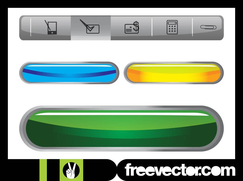 Free Website Navigation Buttons