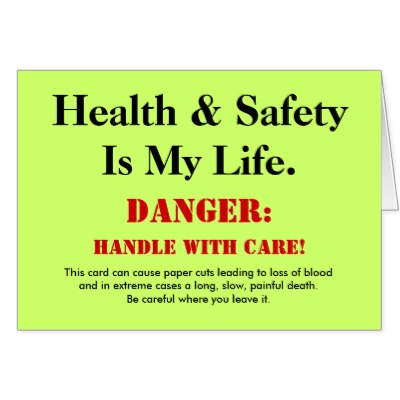 Funny Safety Slogans and Quotes