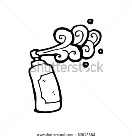 5 Money Graffiti Spray Can Vector Images