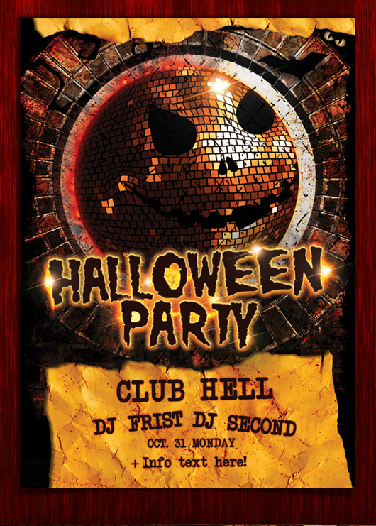 20 Halloween Flyer PSD Images