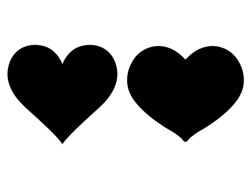 15 Vector Silhouette Girl With Heart Images