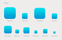 Icon Template iOS 8