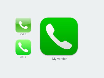 12 Phone App Icon IOS 7 Images