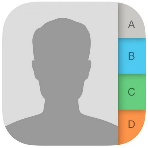 iPhone Contacts Icon