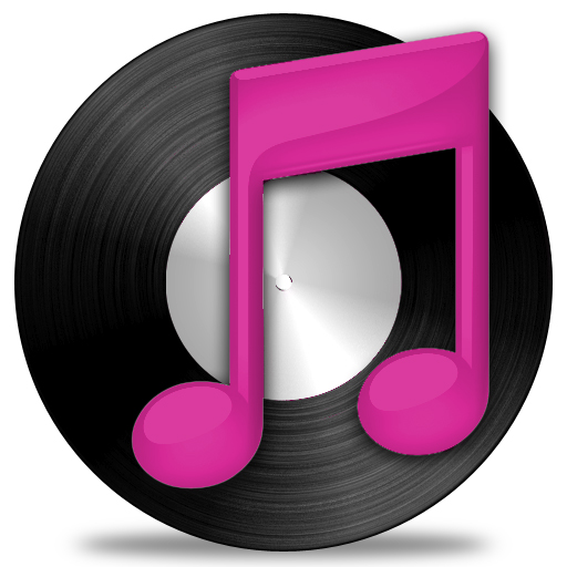 5 Pink ITunes Icon Images