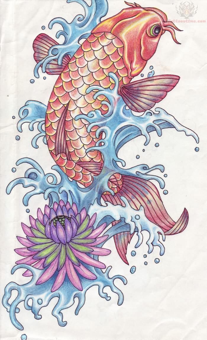 Japanese Koi Fish Tattoo Art