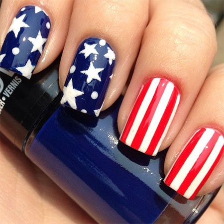 July 4th Nail Art Designs