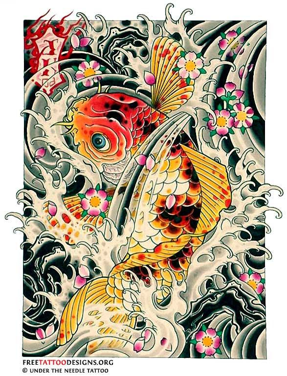 18 fish art designs images tropical fish metal wall art for Koi fish metal art