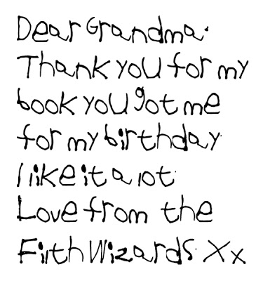 Little Kid Handwriting Font