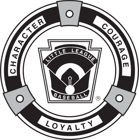 Little League Baseball Logo Vector