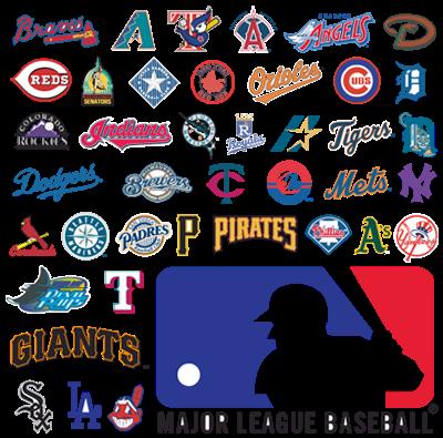 Major League Baseball Teams Logos