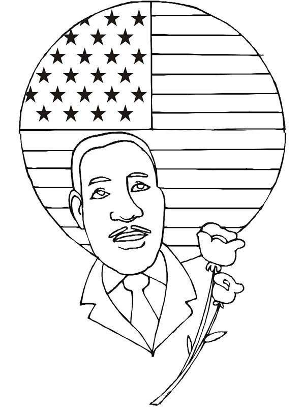 martin luther jr coloring pages - photo#20