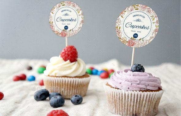 Mock Up Cupcake
