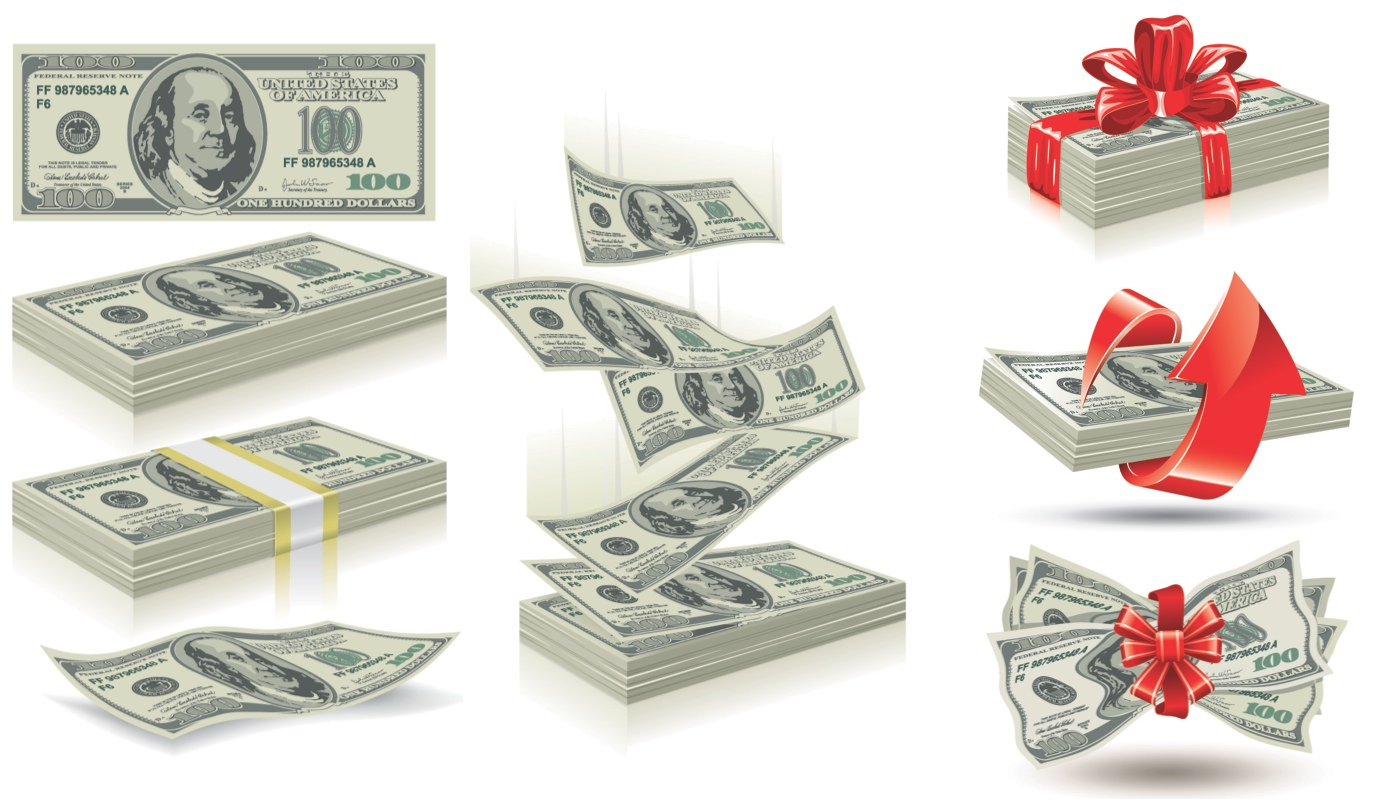 17 Cash Stack Vector Graphics Images
