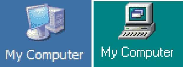 My computer icon windows xp