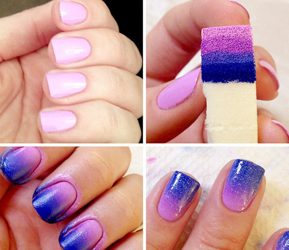 Ombre Nail Art Design Tutorial