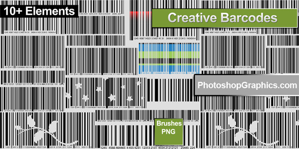 Photoshop Barcode Brushes