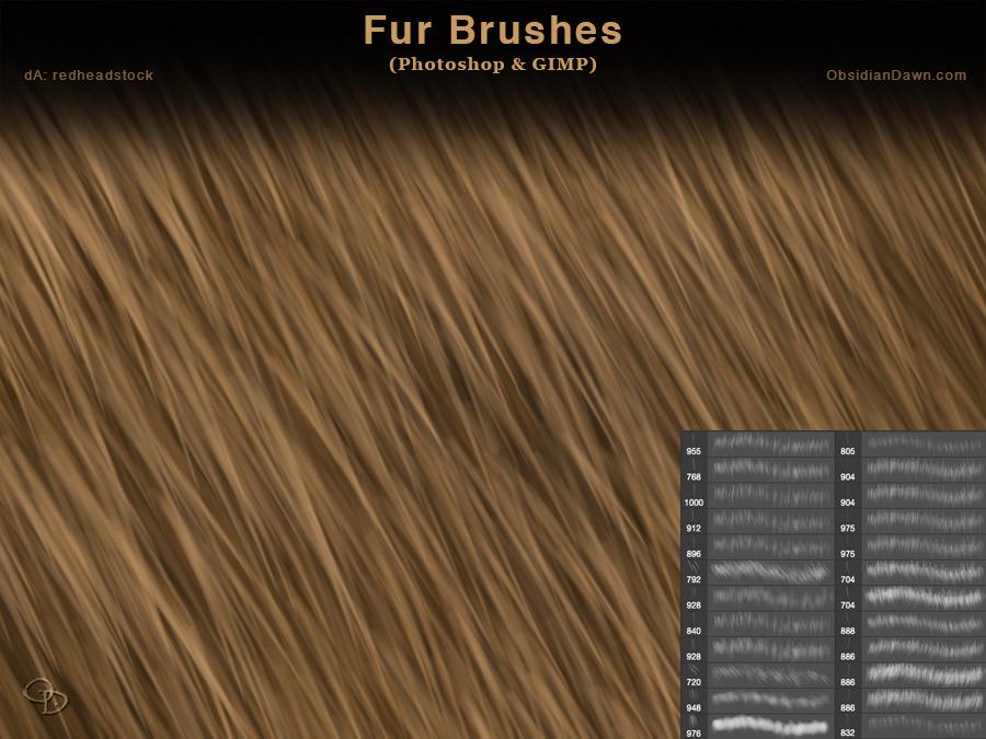 Photoshop Fur Brushes