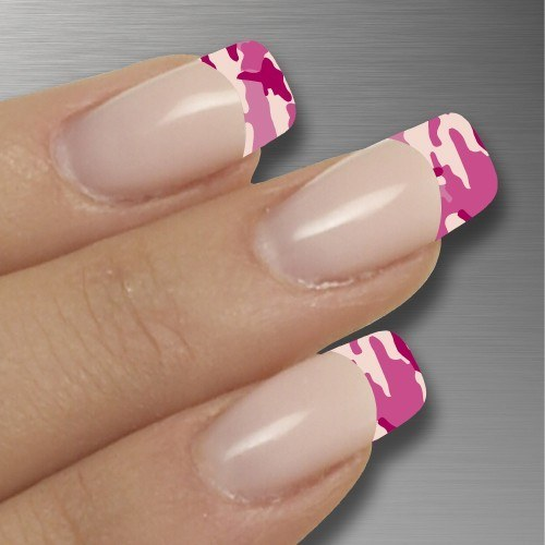 13 Cute Camo Nail Designs Images Pink Camo Nail Designs Cute