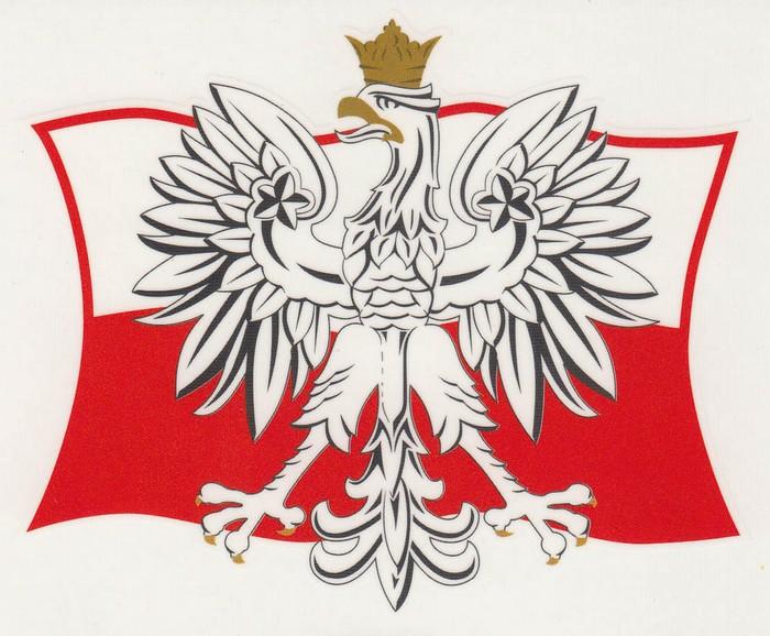 Polish Flag Eagle