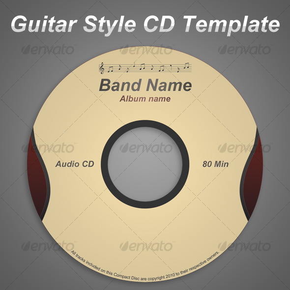 Print CD Cover Template