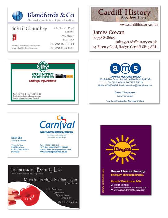 Printable Business Card Designs