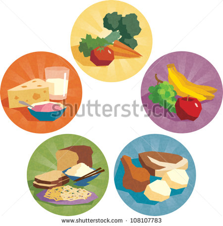 17 Food Group Icons Images