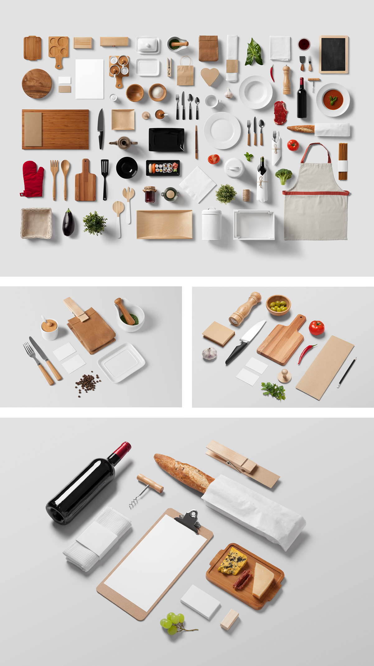 Restaurant Food Mockup PSD
