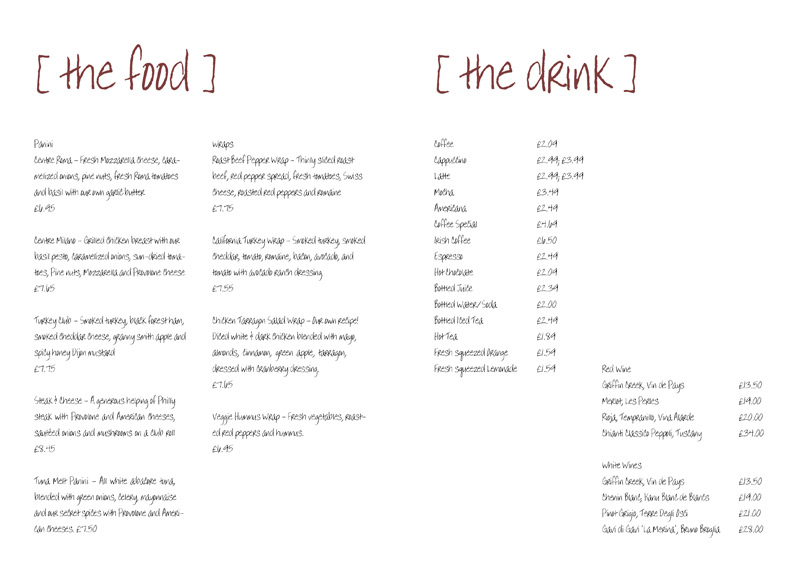 8 Free Blank Restaurant Menu Templates Images