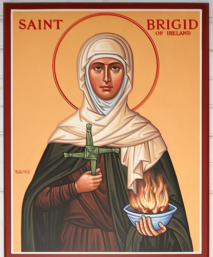 12 St. Brigid Religious Icons Images