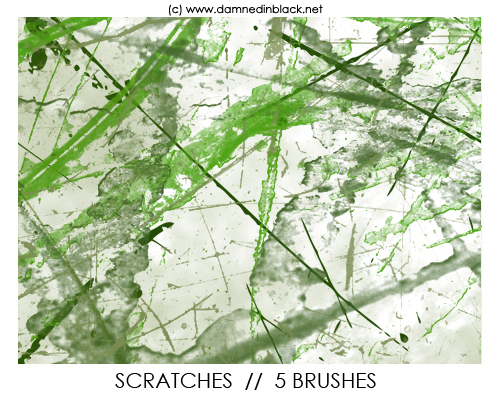 Scratches Brushes Photoshop