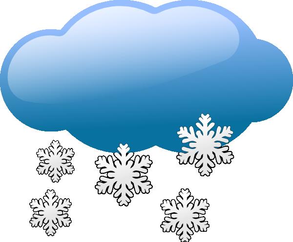 Snow Weather Symbol Clip Art