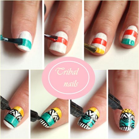 Step by Step Nail Art Ideas