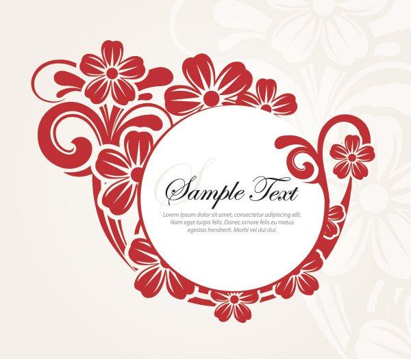 Stylish Graphic Design Flower Vector