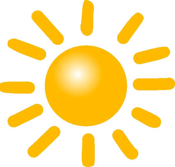 Sun Symbol Weather Clip Art