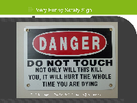 Funny Electrical Safety Signs